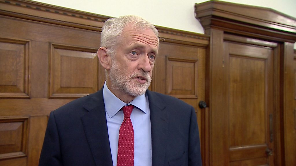 Brexit: Corbyn plan to stop no deal meets resistance