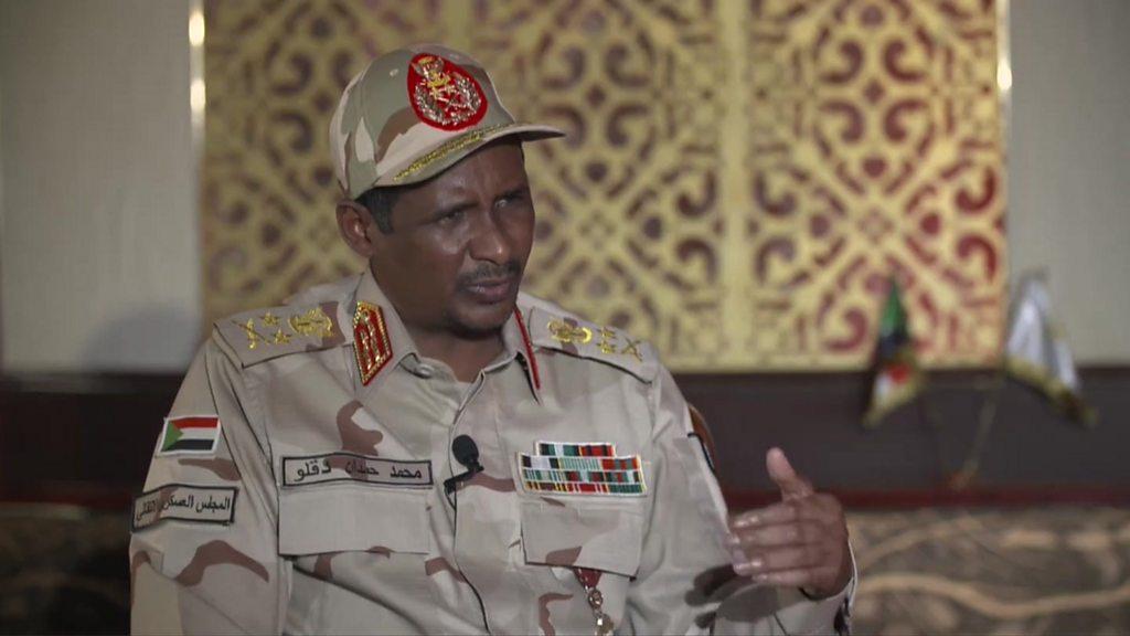 Sudan conflict: Senior commander Hemeti vows to stick with deal