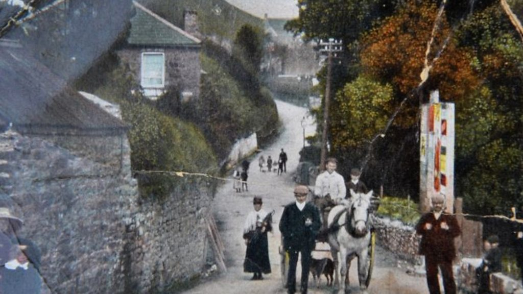 Swansea Valley landslides: Living on a  moving mountain