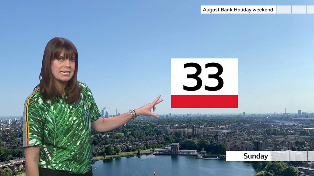 UK to bask in sunshine on Bank Holiday Monday