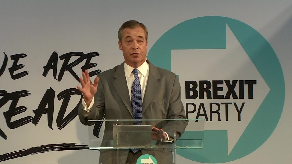 Brexit: No deal  only acceptable  way to leave EU, says Nigel Farage