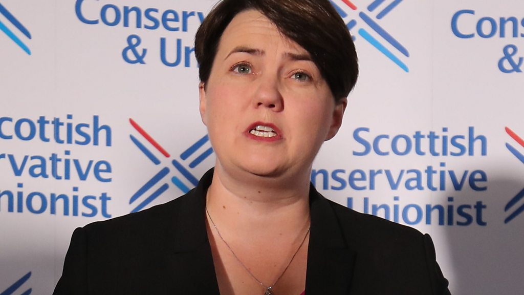 Ruth Davidson quits as Scottish Conservative leader