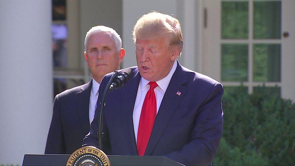 SpaceCom: Trump launches space warfare command