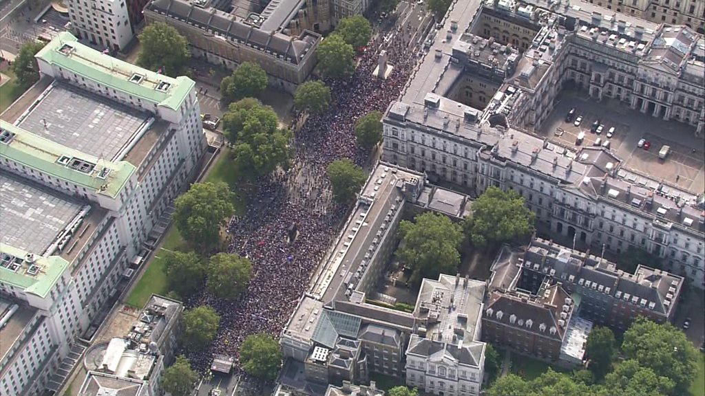 Parliament suspension: Protests to take place across UK