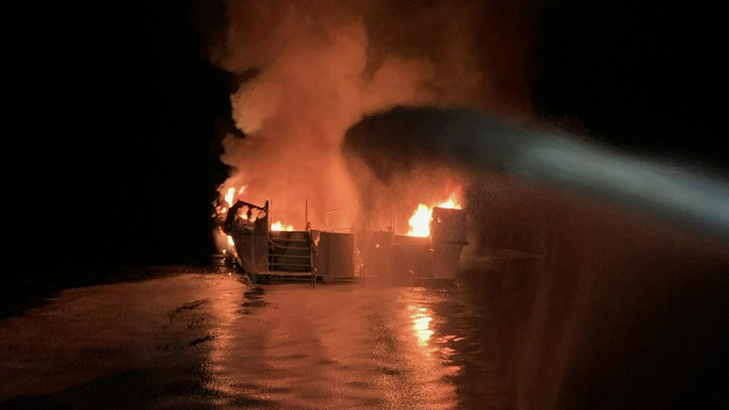 California boat fire: Police begin identifying victims