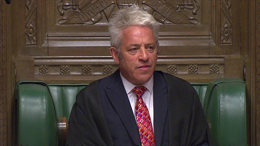 Brexit: MPs debating bill to block no-deal
