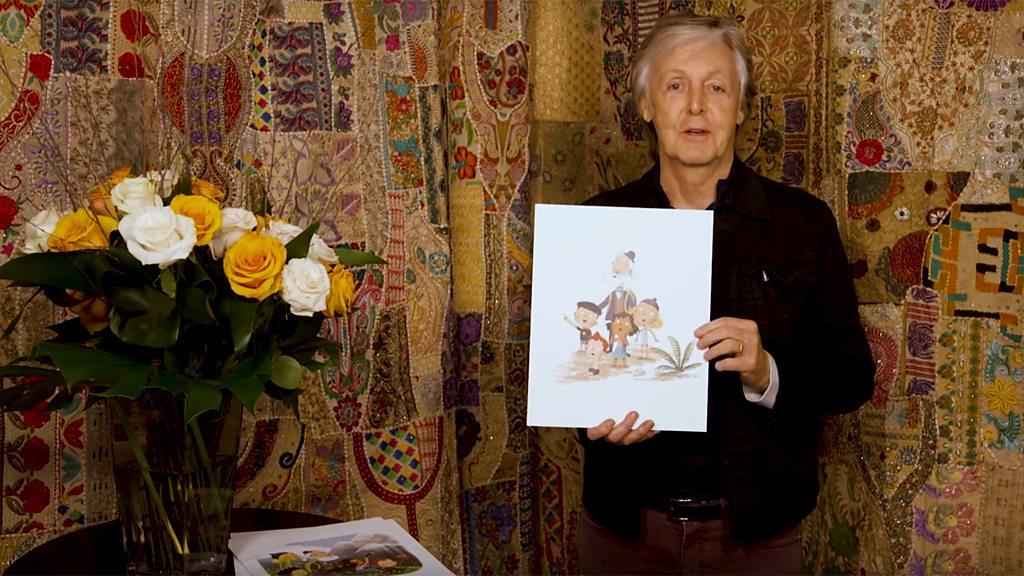 Paul McCartney on a Grandude children s author