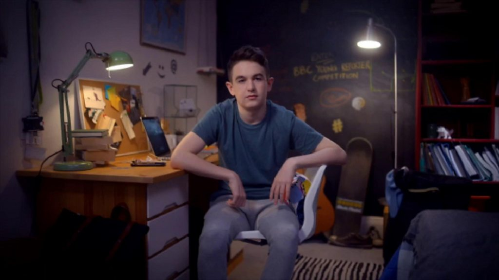 BBC Young Reporter trail image