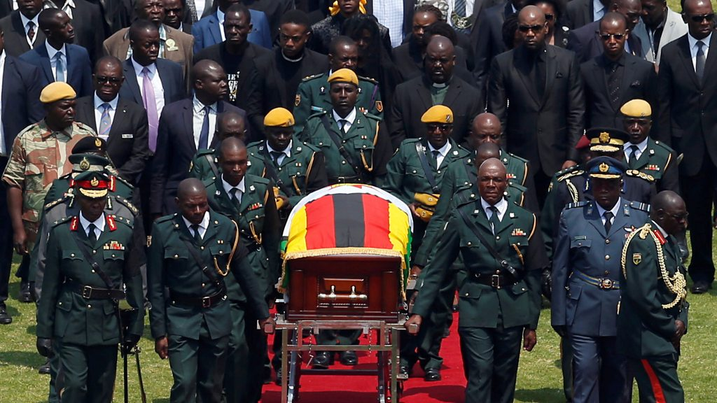 Mugabe s funeral: a Leader   s body home city after state funeral