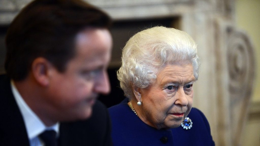 Cameron and the Queen: the Palace of  displeasure  over comments