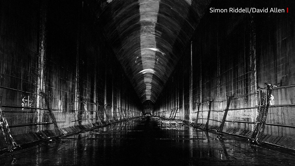 Exploring The Tunnel: Scotland s secret WW2 fuel depot