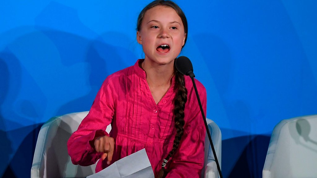 """Greta Thunberg: """"heads of state and government failed us on climate change"""""""