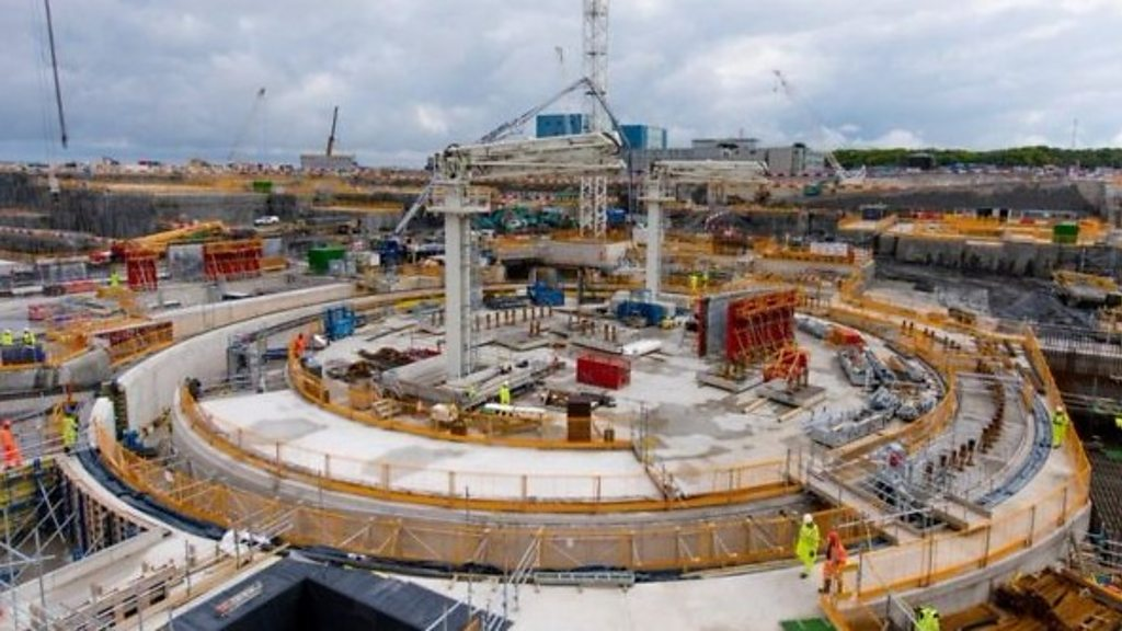 Hinkley Point C nuclear plant to run £2. 9bn over budget.