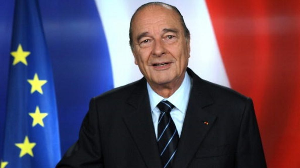 Jacques Chirac: Former French president dies at 86
