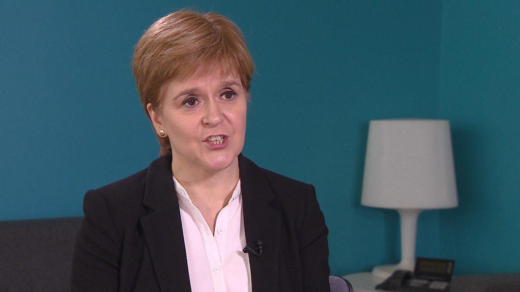 Nicola Sturgeon  open-minded  about interim Prime Minister