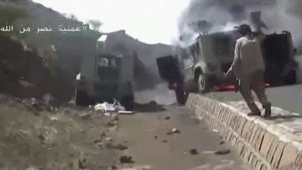 Yemen war: Houthi rebels claim mass capture of Saudi troops