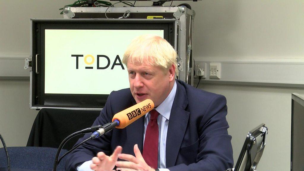 Brexit: Boris Johnson rejects leaks over Irish border plan