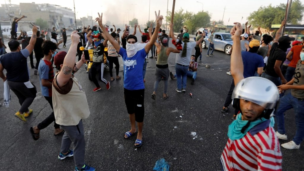 Iraq protests: 'No magic solution' to problems, PM says
