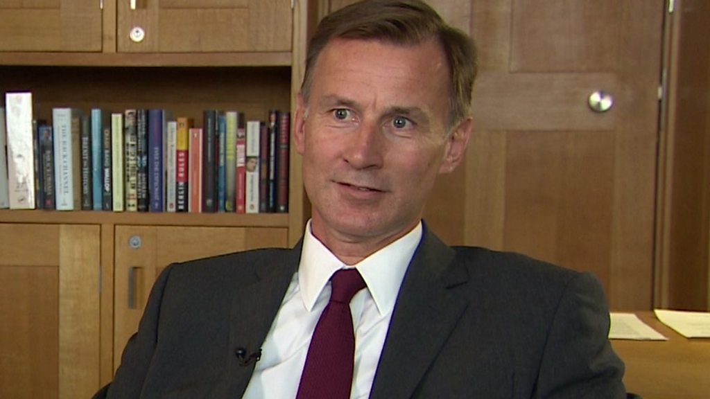 The EU Position for no-deal-UK s EU-exit is provided, Jeremy Hunt warns