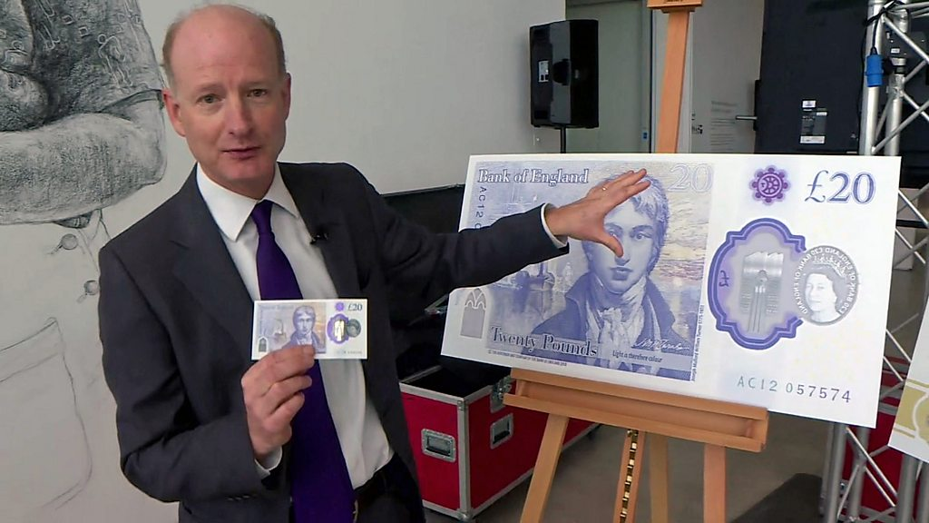 £20 note: New design for the Britain s most-forged-Bank-notes