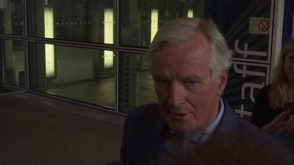 Barnier: Brexit-deal negotiations as a mountain to climb