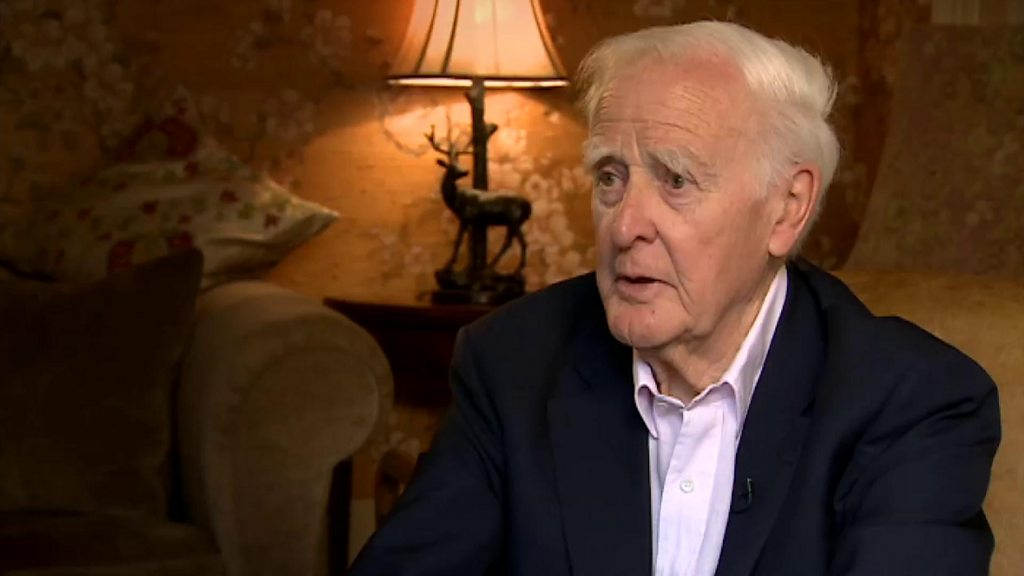 """John le Carré: """"the politicians love the chaos - it gives you power"""