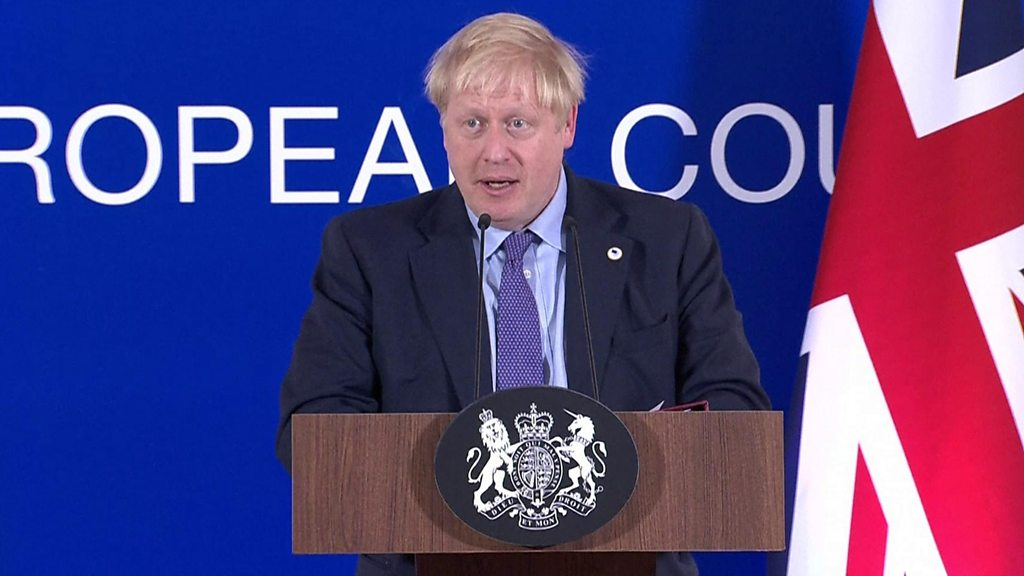 Brexit: Johnson  very confident  MPs will back deal