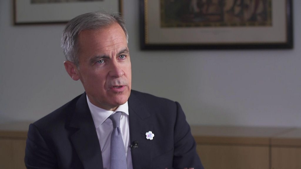"""Carney: Brexit deal is """"positive"""" for the UK economy"""
