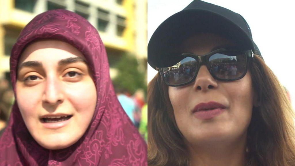 مظاهرات لبنان: الحريري  يتفق على إصلاحات اقتصادية  وسط احتجاجات حاشدة - BBC News Arabic