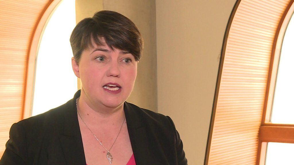 Ruth Davidson backs down on plan to take job with lobbying firm