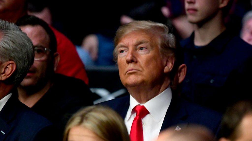 UFC: More boos for Trump at Mixed Martial Arts fight thumbnail