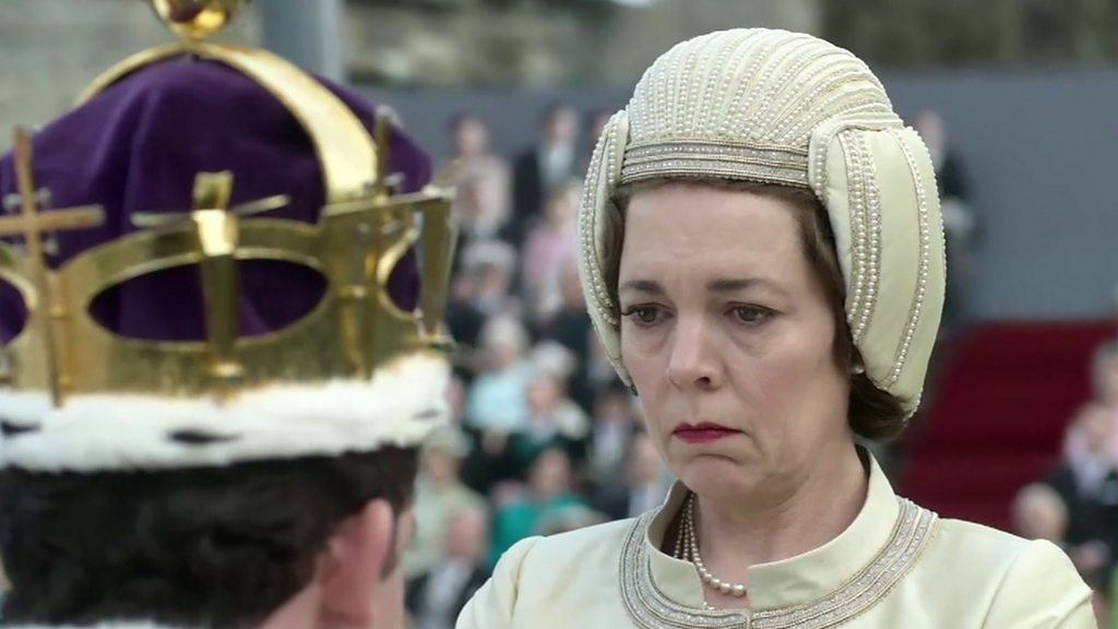 Olivia Colman  became obsessed with Queen  while filming The Crown