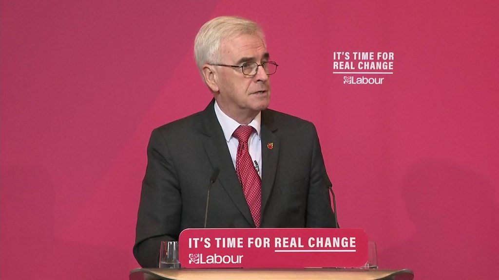 General election 2019: Labour plans to shift power and investment north