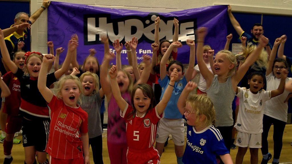 Football-mad girl 'struggled' to find team in Cardiff