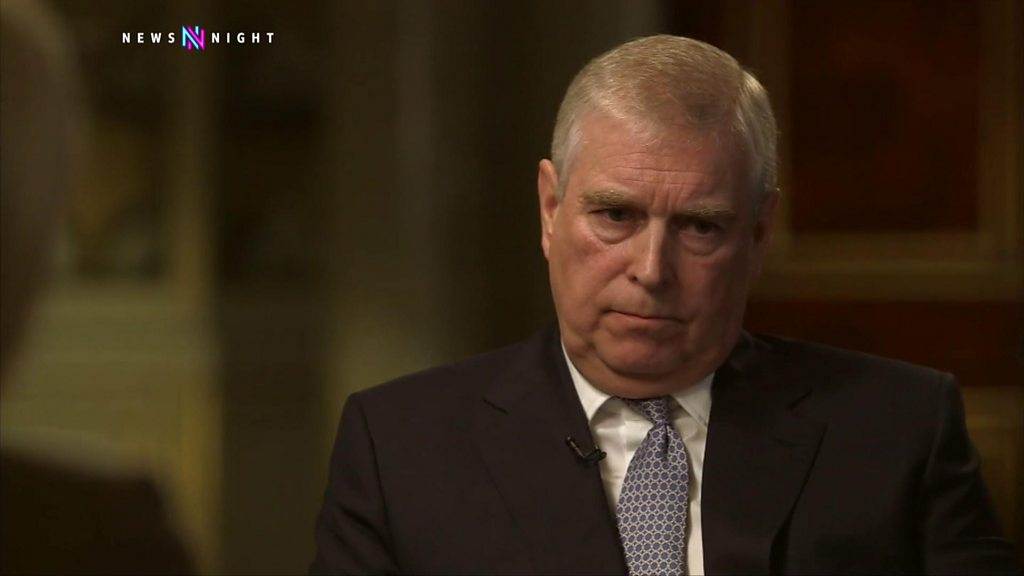 Prince Andrew stepping back from royal duties