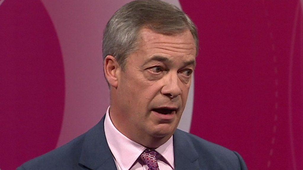 Farage calls for 50,000 net migration cap