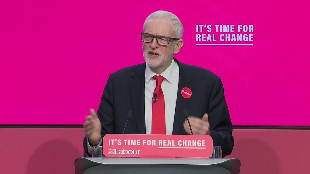 General election 2019: Labour launches  radical  manifesto