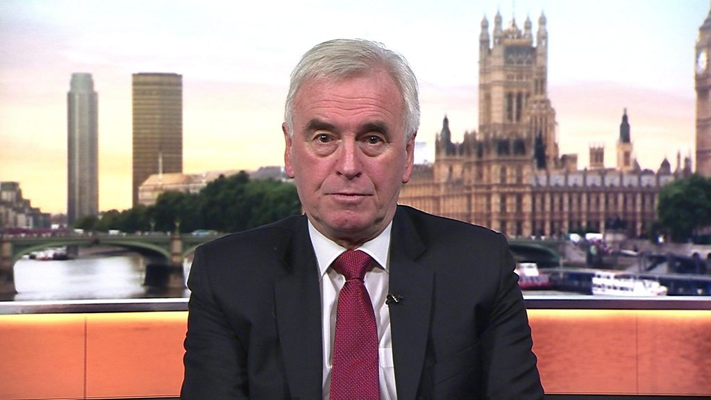 General election 2019: IFS  wrong  on Labour tax plans, says John McDonnell