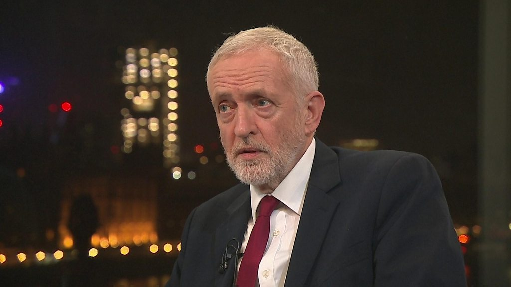 General election 2019: No apology from Jeremy Corbyn over Labour anti-Semitism claims