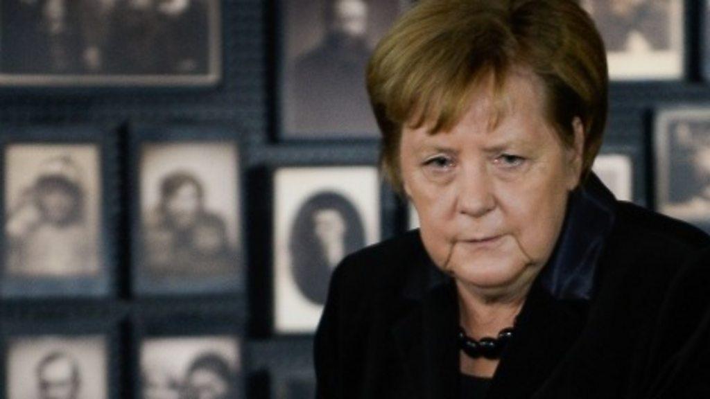 Holocaust: Angela Merkel visits Auschwitz for first time