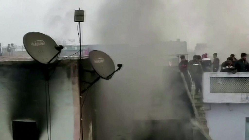 Delhi factory fire: More than 30 dead in India blaze