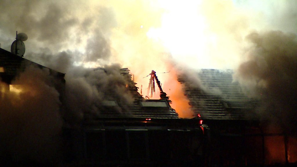 The residents forced from home by the big fire in Glasgow flats