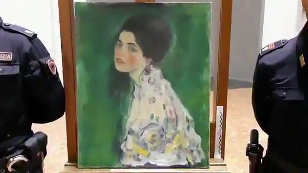 gustav klimt portrait of a woman