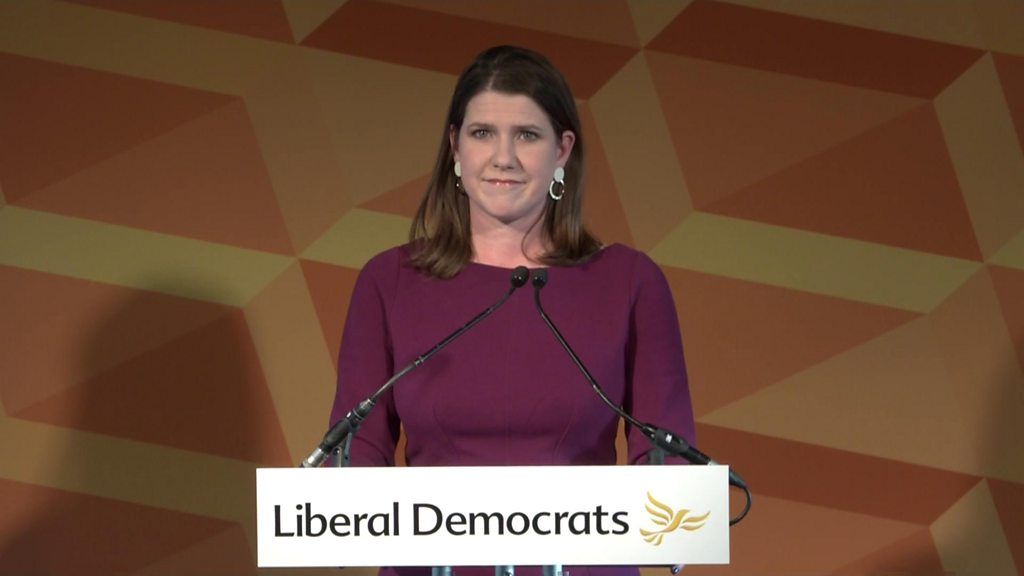 Swinson 'devastated' by election result