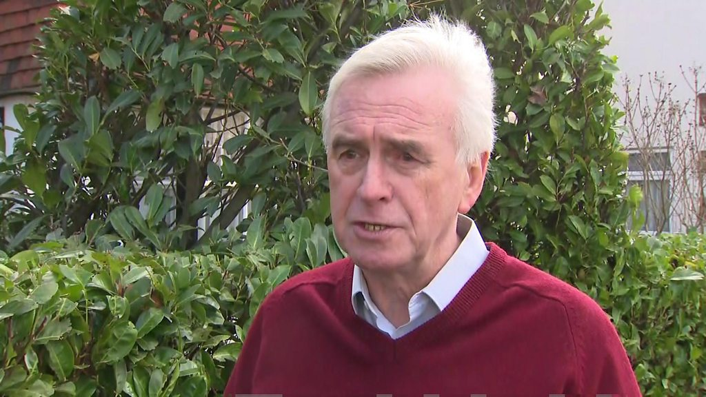 General election 2019: Labour facing long haul, warns McDonnell
