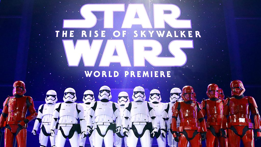The Rise Of Skywalker Another Hit For Star Wars Despite Falling Sales Bbc News