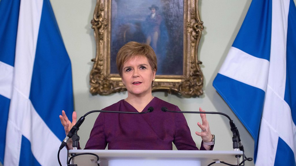 Scottish independence: Nicola Sturgeon to set out  unarguable  case for indyref2