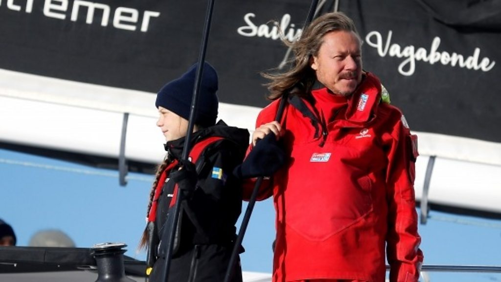 """Greta Thunberg s father:"""" she is happy, but I m worried"""""""