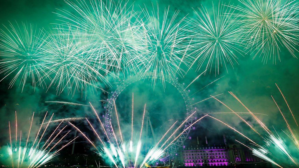 New Year's Eve: Revellers across the UK usher in 2020