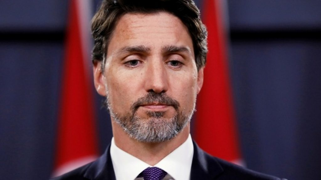 Iran plane downing: Canadian PM promises 'justice' at memorial